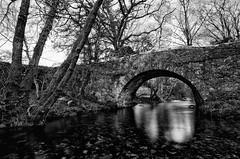 Higher Meavy Bridge (Frosty__Seafire) Tags: dartmoor devon river meavy bridge black white contrast long exposure high riverscape