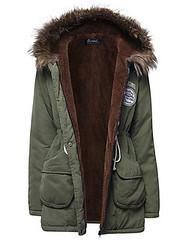 O-Newe M-5XL Fashion Women Waist Drawstring Hooded Thick Coat (1100946) #Banggood (SuperDeals.BG) Tags: superdeals banggood clothing apparel onewe m5xl fashion women waist drawstring hooded thick coat 1100946