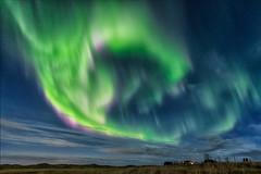 The green dragon (Bkort photography) Tags: northernlights auroraborealis arcticshots arcticshotsis iceland longexposure green sky nightshot nightphotography