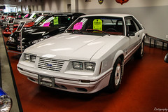 1984 Ford Mustang G.T. 350 20th Anniversary Edition (Rivitography) Tags: rare expensive milford connecticut 2018 canon rebel t3 adobe lightroom rivitography ford mustang white car vehicle