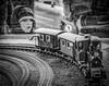 Boy and Train (smburgett) Tags: flickrfriday simplepleasures medina ohio