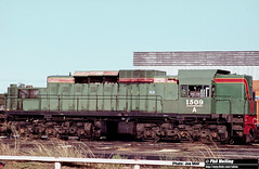 J630 A1509 under repair Forrestfield (RailWA) Tags: railwa philmelling westrail joemoir a1509 under repair forrestfield