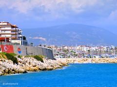 PARADİSE Finike 🍊🍊🍊❤📷 1✪#finike 2✪#lighthause  3✪#liman 4✪#marina 5✪#city (teknisyenarif) Tags: finike lighthause liman city marina