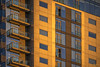 That Orange Facade (Mike B's Photography) Tags: facade building terraces architecture color pattern lines windows orange