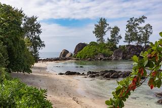 Isle Islet Port Glaud Mahe Seychelles