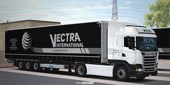 Scania R450 - Vectra International Combo [ETS2] (gripshotz) Tags: scania r450 e6 krone profiliner vectra international romania brasov euro truck simulator ets 2