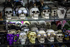 Crazy Skulls (eskayfoto) Tags: canon eos 700d t5i rebel canon700d canoneos700d rebelt5i canonrebelt5i lanzarote playablanca canaryislands islascanarias lightroom sk201801218089editlr sk201801218089 skull shop store novelty gift crazy silly niftyfifty nifty fifty