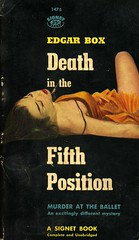 Signet Books 1475 - Edgar Box - Death in the Fifth Position (swallace99) Tags: signet vintage 50s murder mystery paperback robertmaguire gorevidal