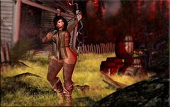 FASHION ADVISORY #187 A Hunting We Shall Go (Fashion Advisory) Tags: plastik wlrp secondlife luas vinyl avatars 3d gaming virtual catwa maitreya