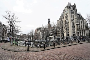Amsterdam, its canals, its bicycles and its Westertoren (