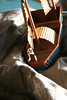 Ed Mikus' Scratch-Built Creations (kawkawpa) Tags: kawkawpa edmikus hmgs scratchbuiltmodel boat miniaturegaming 28mm dhow img5029cleanedupflickrx