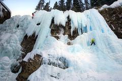 Ice Climbing (yan08865) Tags: snow beauty ice climb rock rockies canyon canada sky landscape nature earth outdoor banff alberta blue beautiful pics photos