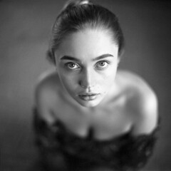 Olga (szimi82) Tags: 6x6 planar norita 66 analogue film tmax400
