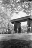 Hell Gate Bridge (Rafakoy) Tags: nikonf100 afnikkor50mmf14d 50mm kodakhie kodakhc110 35mm expired infrared ir blackandwhite sun newyork ny epsonv600 epsonperfectionv600 nature summer astoriapark astoria queens selfdeveloped