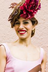 Beauté canarienne! (dominiquita52) Tags: wedding mariage canaries canaryislands woman femme hat chapeau smile sourire stare eyecontact regard orotava boda