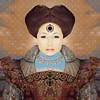 January (lorenka campos) Tags: mobileartistry love warriors women portrait artdigital modernart art winter january