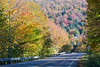Fall colours in near Smuggler's Notch, Vermont (Miche & Jon Rousell) Tags: usa fall autumn vermont stowe mountmansfield smugglersnotch statepark leaves red yellow orange trees hiking trail skiing skiresort