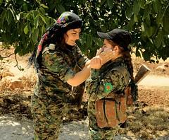 Kurdish YPG Fighters (Kurdishstruggle) Tags: ypg ypj ypgypj ypgkurdistan ypgrojava ypgforces ypgkämpfer ypgfighters ypgwomen yekineyênparastinagel kurdischekämpfer war warphotography warriors freekurdistan kämpfer freedomfighters heroes resistancefighters liberty revolutionary revolution revolutionarywomen freedom defenceforces rojava rojavayekurdistan westernkurdistan pyd syriakurds syrianwar kurdssyria efrin afrin comrades struggle krieg femalefighters feminism feminist womenfighters kurdishfemalefighters kurdishwomenfighters resistance courage kurd kurdish kurden kurdistan kurds ak47 kurdishforces syria kurdishmilitary military militaryforces militarywomen kurdishfreedomfighters kurdishfighters fighters