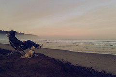 Blown Away (Takako Kitamura) Tags: beach mist fluffy oregoncoast