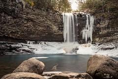 Cherokee Falls (johnloganhill) Tags: winter 1855mm cloudlandcanyon georgia nature warerfall 10stop longexposure kitlens d5500 nikon