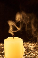 lights out (ladybugdiscovery) Tags: candle smoke flameless macro