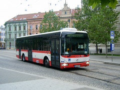 Brno motor bus No. 7822 (johnzebedee) Tags: bus motorbus transport publictransport vehicle brno czechrepublic johnzebedee