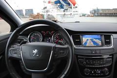 Peugeot 508-6 (gabrielgs) Tags: peugeot 508 peugeot508 car drive photography photoshoot vehicle luxurious 2012 auto scheveningen fotoshoot carshoot black francecar frenchcar france fifthgear