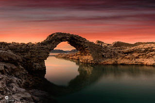 Devil's bridge (First century), the legend of the dragon's lair - Socovos (Albacete, Spain)