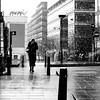 The frozen woman (pascalcolin1) Tags: paris13 femme woman gelée frozen neige snow carré square reflets reflection photoderue streetview urbanarte noiretblanc blackandwhite photopascalcolin 50mm canon50mm canon