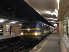 2114 - Brussels Nord, 12/02/2018 (20.031) Tags: brusselsnord 2114 sncbclass21