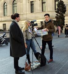 filming (midatlantica) Tags: newwork nyc centralpark manhattan winter urban city people