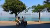 Cyclist at Ho Tay (VIETNAM) (ID Hearn Mackinnon) Tags: ho tay west lake ha noi hanoi vietnam vietnamese viet south east asia asian city urban water trees man cyclists bicycle cycling