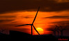 Solar Wind 2 (red.richard) Tags: sunrise silhouette wind turbine red sky
