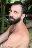 Shai (Levi Smith Photography) Tags: shirtless hairy bear israeli guy beard fashion new zealand arms muscle browneyes brunette sexy hot handsome man mens clothes dancing eyebrows greenery jungle tropics trees pose cute