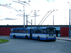Ostrava trolleybus No. 3511 (johnzebedee) Tags: trolleybus transport publictransport vehicle ostrava czechrepublic skoda johnzebedee skoda15tr
