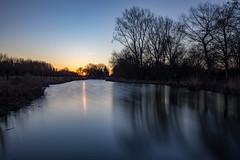 Long exposure @ Nootdorpse plassen (Jan Hoogendoorn) Tags: nederland netherlands nootdorp sunset zonsondergang longexposure le