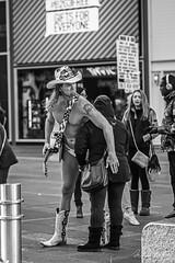 Gifts for Everyone (Mario Rasso) Tags: mariorasso nikon d810 timessquare manhattan newyork usa cowboy boots street urban