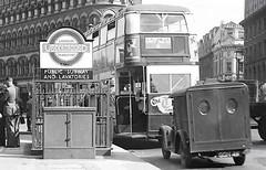 London transport STL on route 6 Trafalgar Square Post war. (Ledlon89) Tags: london bus buses transport londonbus londonbuses stlbus stl aecregent lt lte lptb londontransport vintagebuses