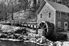 Grist mill-2 (enjoiskate8) Tags: 2017 capecod gristmills cold ice snow winter autumn