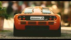 McLaren F1 (at1503) Tags: car germany daylight orange mclaren mclarenf1 brakelights taillights supercar blur closeup dark granturismo granturismosport digitalphotography digitalmotorsport ps4 game racing 1990s motorsport