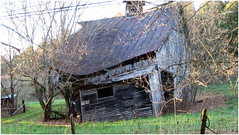 Crooked everywhere (cscott_va.) Tags: barn old abandoned virginia