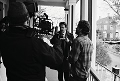 EX02-018-7A (David Swift Photography) Tags: davidswiftphotography capemaycounty movies motionpictures actors gabefazio federicocastelluccio 35mm film ilfordxp2 nikonfm2