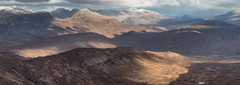 The Mamores (J McSporran) Tags: scotland highlands westhighlands mamoremountains devilsstaircase landscape canon6d ef70200mmf28lisiiusm panorama