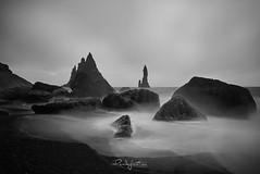 Wave Motion 2 (Rendeification) Tags: nikon d750 irix 15mm iceland reynisfjara beach waves black white monochrome long exposure