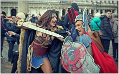 Carnevale 2108. (rogilde - roberto la forgia) Tags: venezia venice carnevale maschere maschera carnival guerrieri