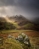 hallin fell light show (akh1981) Tags: hallinfell ullswater cumbria clouds landscape lakedistrict outdoors mountains rocks wideangle walking fells frost manfrotto moody sunrise snow sky unesco nikon nisi nationalpark nature countryside beautiful sunbeams rain uk
