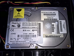 Quantum Fireball LCT 20 HDD (Diego3336) Tags: microsoft xbox originalxbox quantum hd hdd harddisk harddrive harddiskdrive ata fireball lct20 storage old vintage classic pc pcparts hardware videogame console game gaming cameraphone nokia lumia lumia930 pureview tech technology obsolete