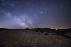 Milky Way over Death Valley 2018 (Jeff Berkes Photography) Tags: deathvalley california camping night sky photography milky way galazy panoramic badwater basin devils gold course zabriskie point dantesview desertsouthwest landscape nighttime nightscape stars