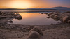Las rocas se van al agua (Victor Aparicio Saez) Tags: agua atardecer color embalsedevalmayor filtrond fotoconamparohervella horadorada landscape largaexposición luznatural montañas naturaleza nature nikond5200 paisaje pantano red reflejos rocas sunset water