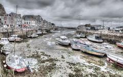 Port du Croisic ( Loire Atlantique) (Didier Gozzo) Tags: photomatix hdr canon boats bateaux outdoor bretagne loireatlantique atlantique sea mer océan port